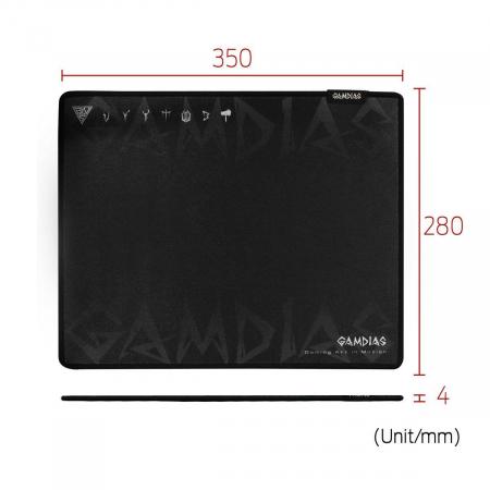 Mousepad gaming Gamdias Nyx Speed M [5]