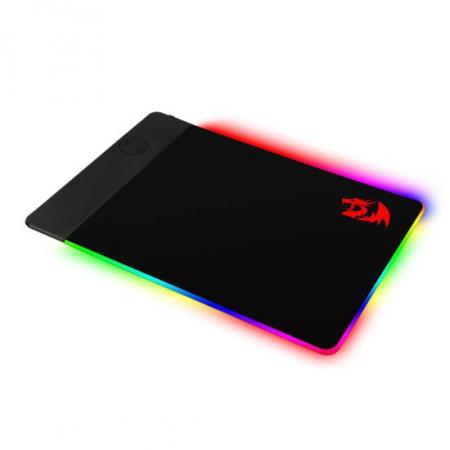 Mousepad gaming Redragon P025 negru iluminare RGB si incarcare wireless [0]