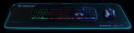 Mousepad Orico FSD-15 negru iluminare RGB [6]