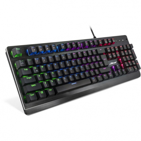 Pachet gaming Inter-Tech, tastatura gaming mecanica Nitrox RGB + mouse gaming Nitrox GT-200 RGB1