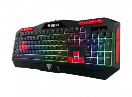 Pachet gaming, Scaun gaming Spacer + Kit gaming Gamdias Poseidon M2 iluminare RGB7