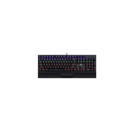 Pachet gaming, tastatura mecanica Destroyer, mouse Second Lieutenant, mousepad, boxe Stentor, microfon Seyfert, camera web Tellur0