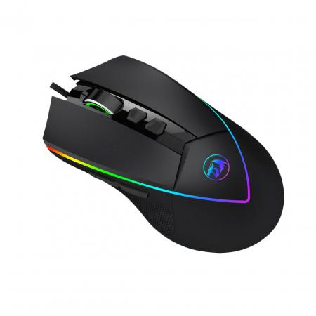 Pachet Redragon tastatura gaming Shiva + mouse gaming Emperor + mousepad gaming Taurus10