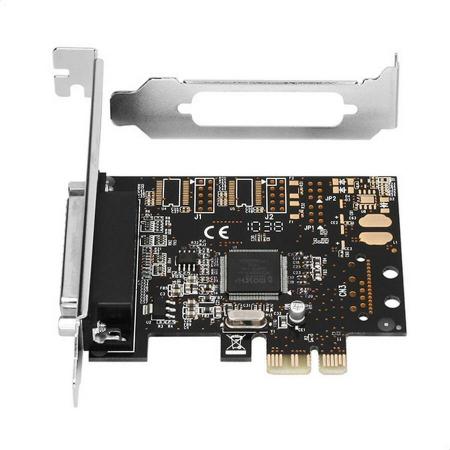 PCI-Express Adapter 1x Parallel Port + LP [5]