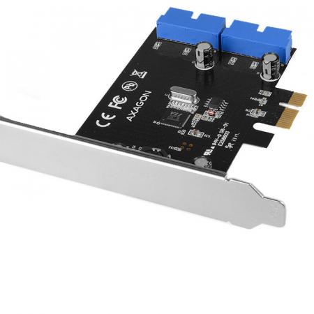 PCI-Express Adapter PCEU-034VL, USB3.0, UASP VIA + LP [1]