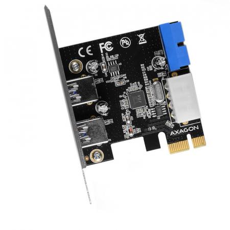 PCI-Express Adapter PCEU-232VL, 2+2 USB3.2 gen1 + LP [2]