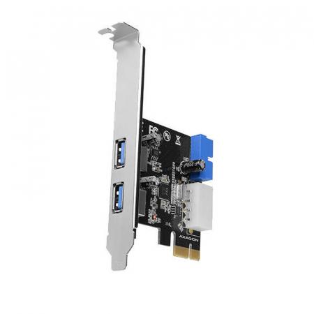 PCI-Express Adapter PCEU-232VL, 2+2 USB3.2 gen1 + LP [0]