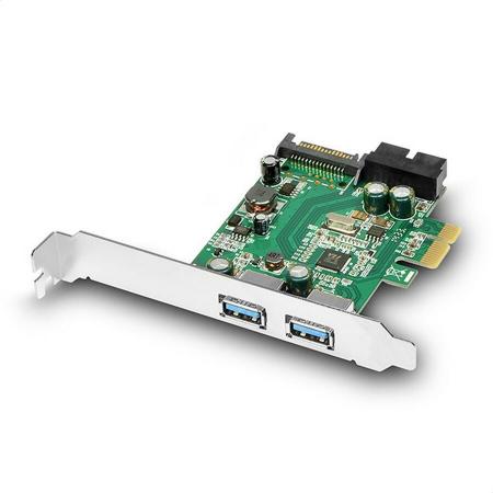PCIe Adapter 2+2x USB3.0 UASP VIA + LP [2]