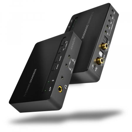 Placa de sunet Soundbox ,USB, 7.1 [4]