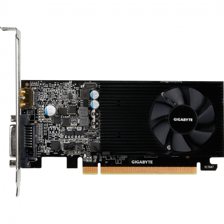 Placa video GIGABYTE GeForce GT 1030 Low Profile 2GB GDDR5 64-bit2