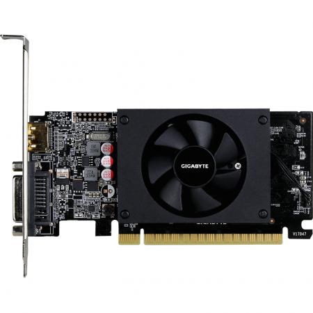 Placa video GIGABYTE GeForce GT 710 2GB GDDR5 64-bit Low Profile [3]