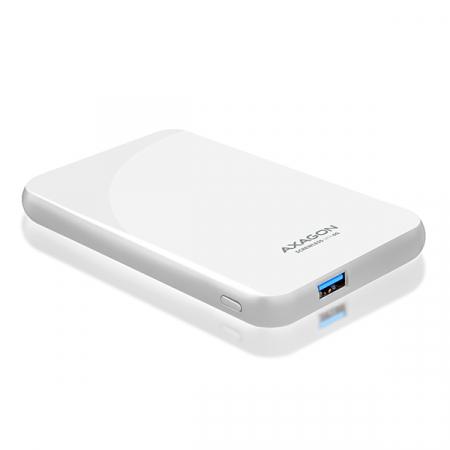 Rack extern Axagon EE25-S6, Conexiune USB 3.0, compatibil cu HDD/SSD de 2.5 inch SATA , 6 Gbit/s, Alb, Toolless [2]