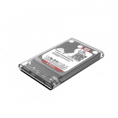 Rack HDD Orico 2139U3 2.5 inch transparent2