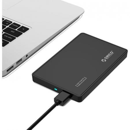 Rack HDD Orico 2588US3 negru USB 3.0 Tool Free 2.5 inch SATA3