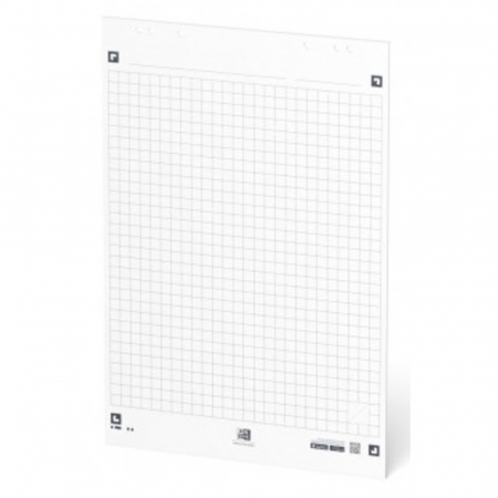 Rezerva hartie flipchart, 65x98mm, OXFORD Smart Chart, 20coli/top, 90g/mp, Scribzee, matematica [1]