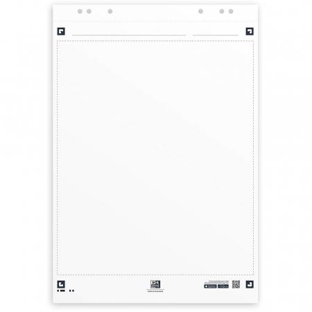 Rezerva hartie flipchart, 65x98mm, OXFORD Smart Chart, 20coli/top, 90g/mp, Scribzee, velina [0]