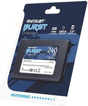 SSD Patriot Burst 240GB SATA-III [0]
