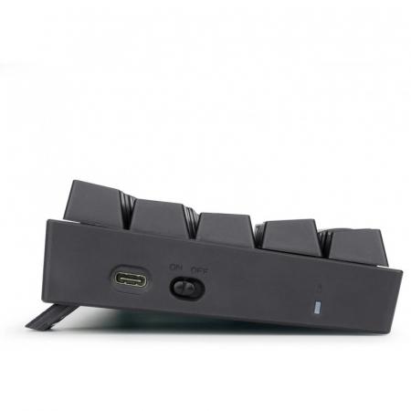 Tastatura Gaming Redragon Deimos, RGB, Mecanica, Red Switch, 2.4G wireless + wired [5]