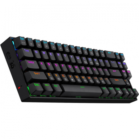 Tastatura Gaming Redragon Deimos, RGB, Mecanica, Red Switch, 2.4G wireless + wired [1]