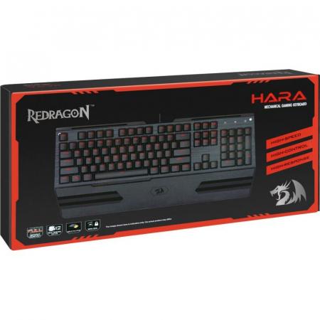 Tastatura mecanica Redragon Hara neagra [8]