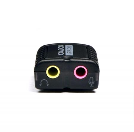 USB2.0 - Stereo HQ Audio Mini Adapter 24bit 96kHz [5]