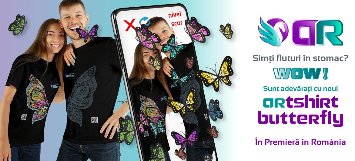ARTShirt  Butterfly Wings