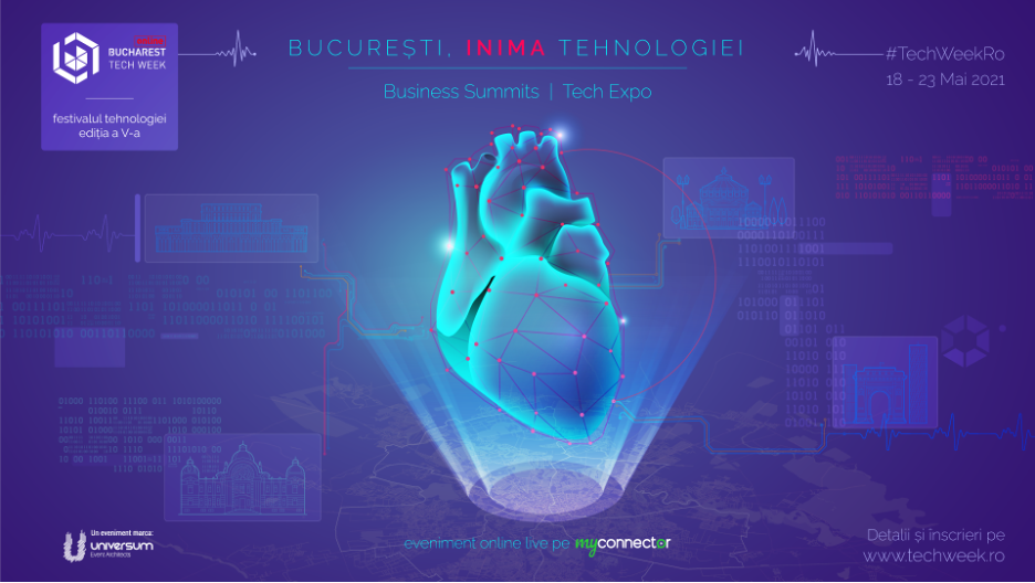 INIMA TEHNOLOGIEI, la Bucharest Tech Week.