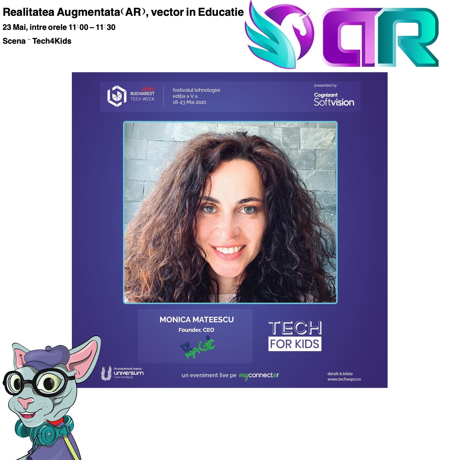 Realitatea Augmentata, vector în educație la Bucharest Tech Week, Scena Tech4Kids