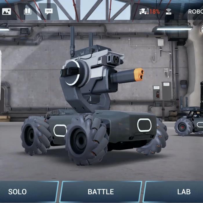 Robotica Robomaster  ||  Online / Offline 1