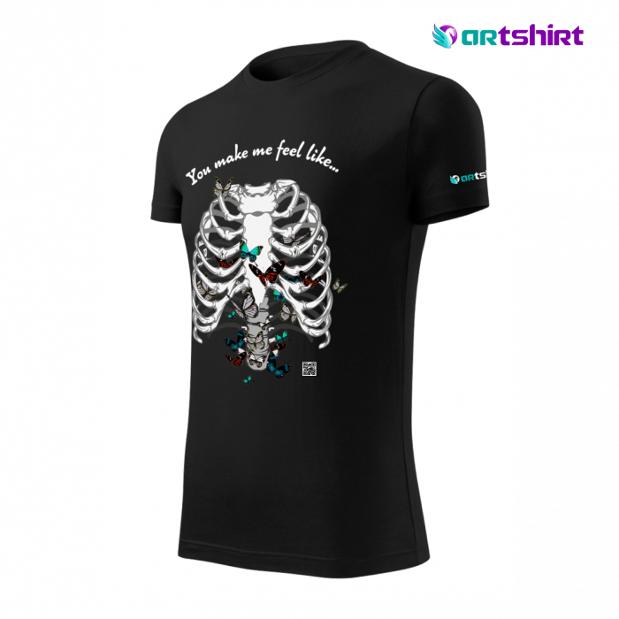 Tricou cu Realitate Augmentata Butterfly Feelings 2