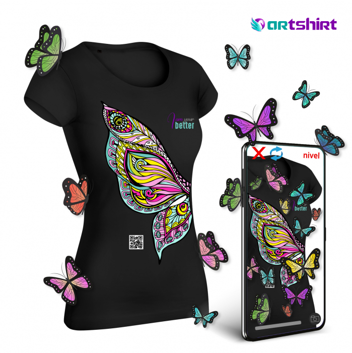 ARTShirt Wings - Tricou smart cu realitate augmentata 0