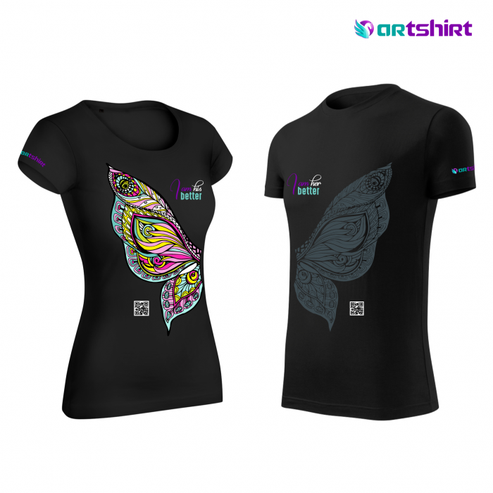 ARTShirt Wings - Tricou smart cu realitate augmentata 2