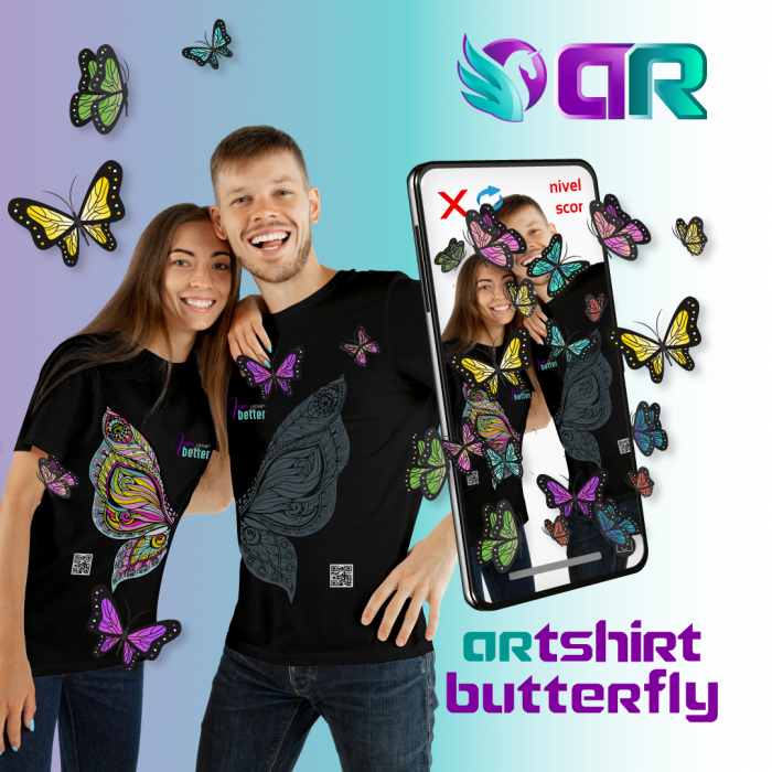 ARTShirt Wings - Tricou smart cu realitate augmentata 3