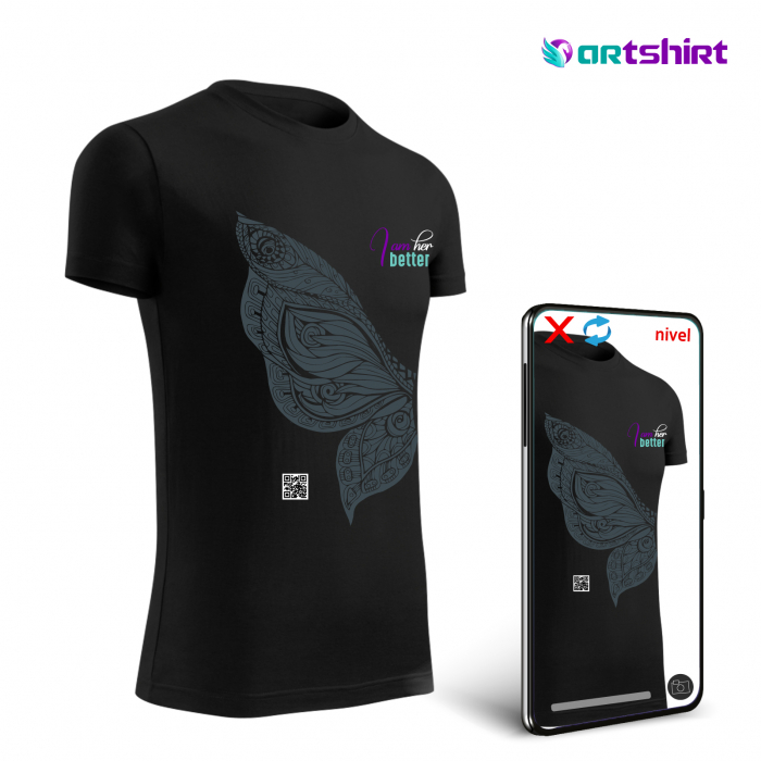 ARTShirt Wings - Tricou smart cu realitate augmentata 1