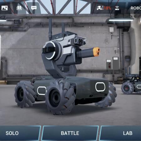 Robotica Robomaster  ||  Online / Offline1