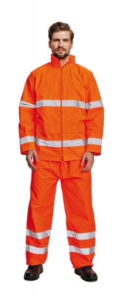 Costum de ploaie Gordon Portocaliu 0