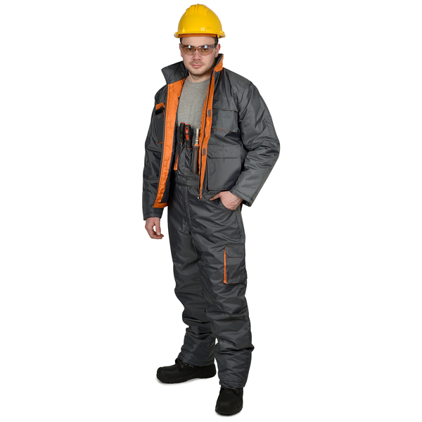 Costum Sigma Winter gri [0]