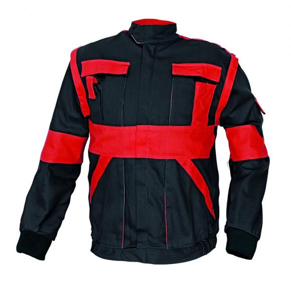 Jachetă Max Negru-Roşu 0