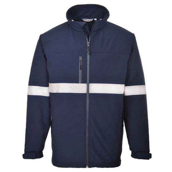 Jachetă Softshell Iona Bleumarin 0