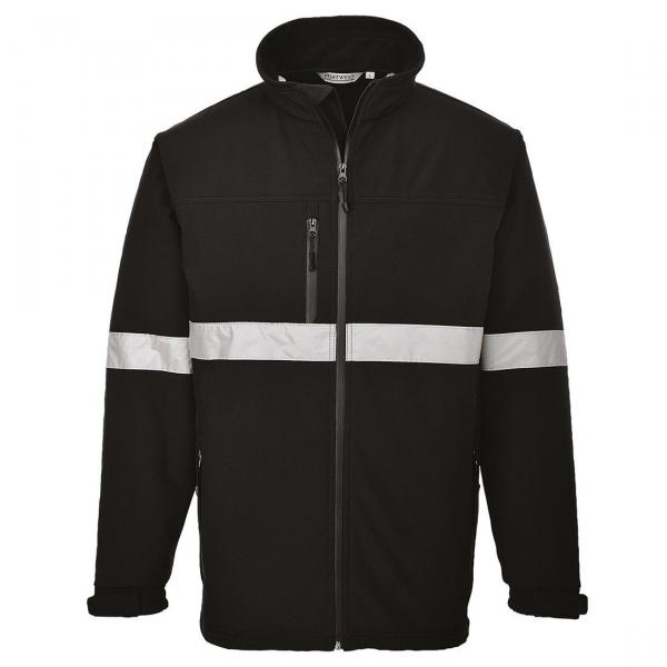 Jachetă Softshell Iona Negru 0