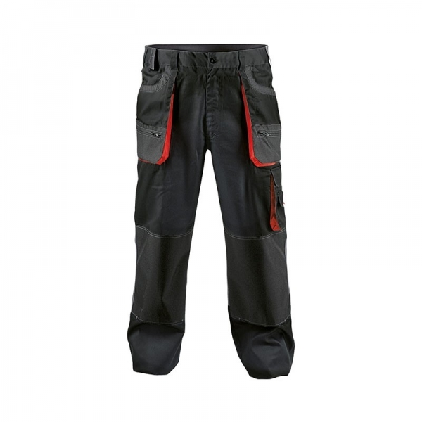 Pantaloni Carl, Negru 0