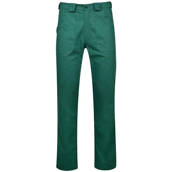 Pantaloni Delta Plus Verde/Galben 0