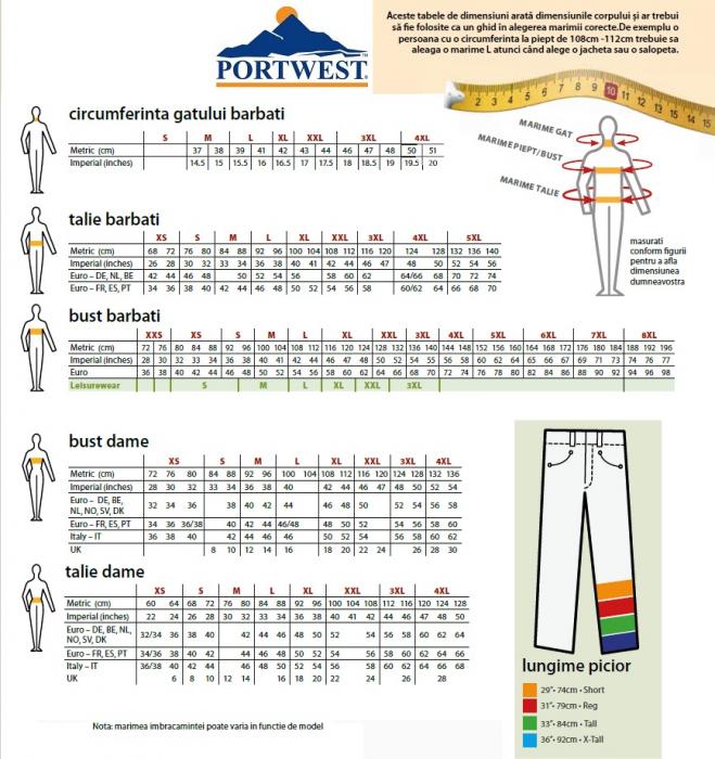 Pantaloni Iona Safety Combat Bleumarin [1]