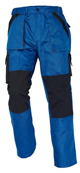 Pantaloni Max Albastru/Negru, 100% bumbac [0]