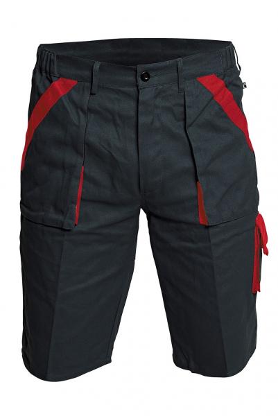 Pantaloni scurţi MAX Negru/Roşu 0