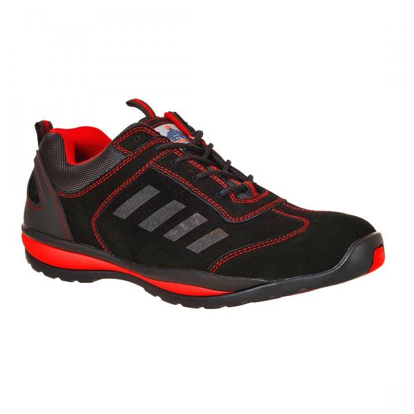 Pantofi de protecţie STEELITE LUSUM S1P HRO - Roşu [0]