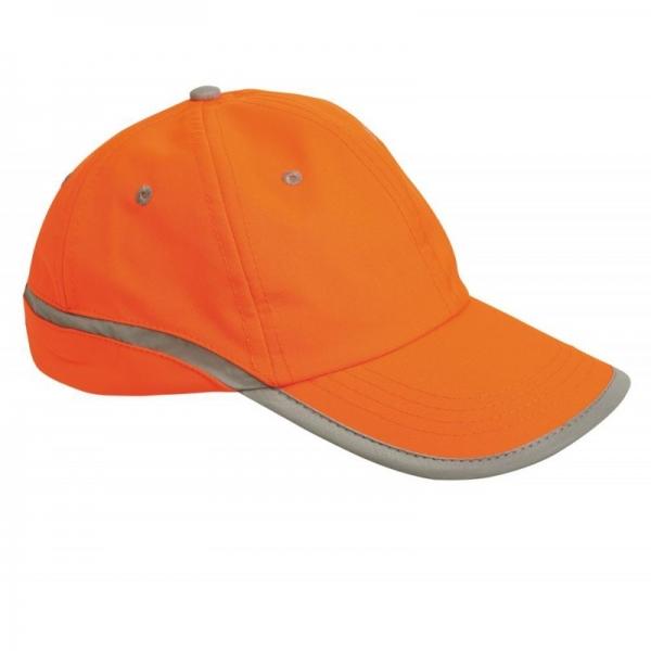Şapcă reflectorizantă Tahr, Portocaliu-neon 0