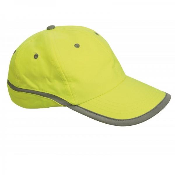 Şapcă reflectorizantă Tahr, Galben-neon 0