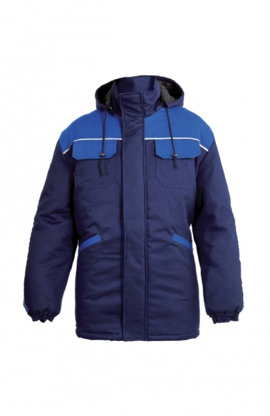 Jacheta lunga Alpha Winter, albastru [0]