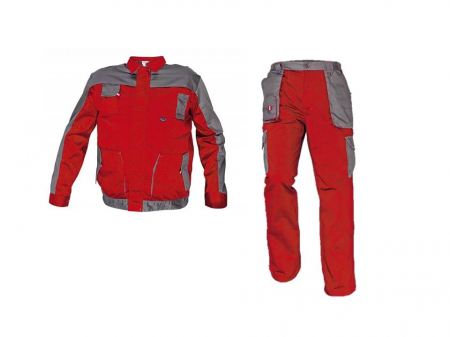 Costum Max Evolution Rosu, jacheta + pantaloni [0]